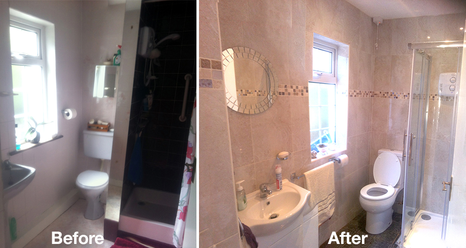 Tc systems bathroom renovation dublin bathroom for Ensuite bathroom renovation ideas